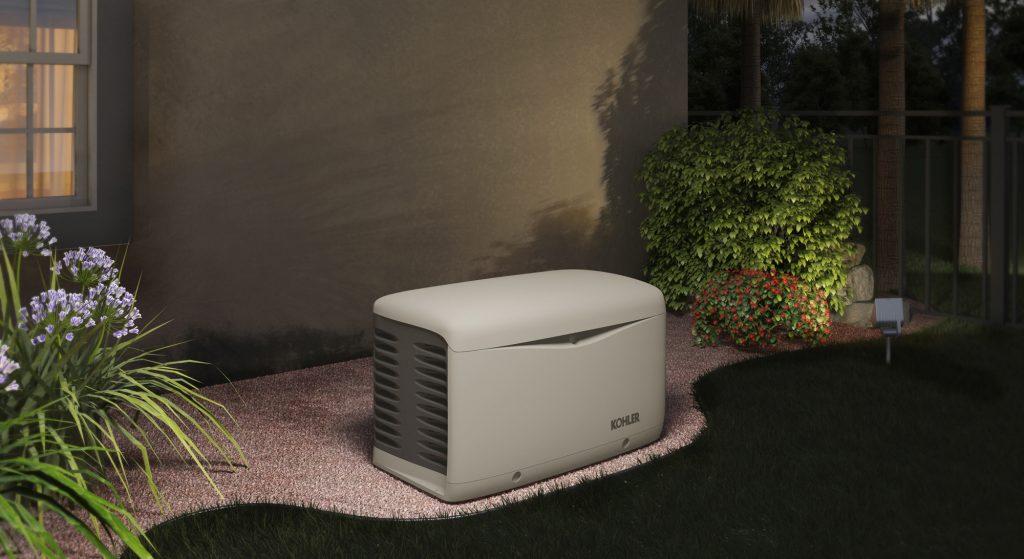 Kohler residential generator unit